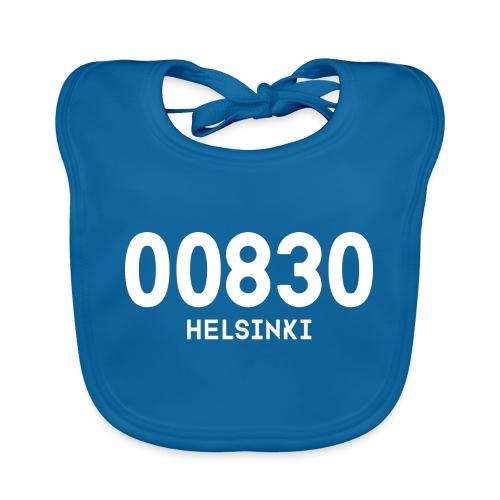 00830 HELSINKI - Vauvan luomuruokalappu