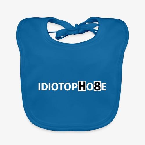 IDIOTOPHOBE2 - Baby Organic Bib