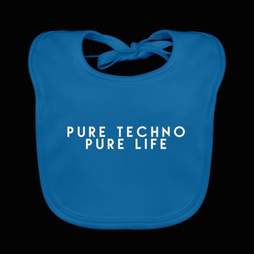Pure Techno Pure Life White - Baby Bio-Lätzchen
