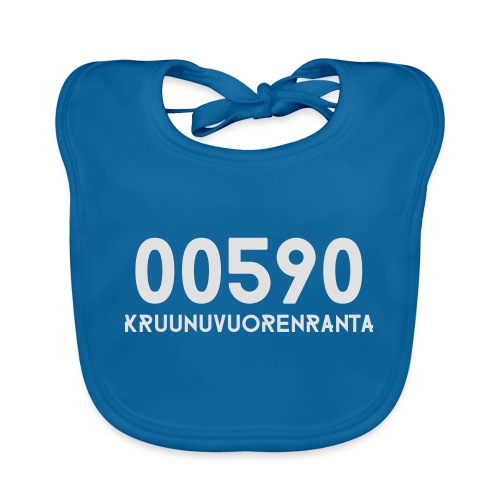 00590 KRUUNUVUORENRANTA - Vauvan ruokalappu
