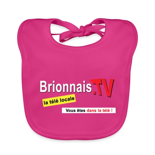 BTV logo shirt dos - Bavoir bio Bébé