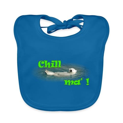 Chill ma'! - Bär - Baby Bio-Lätzchen