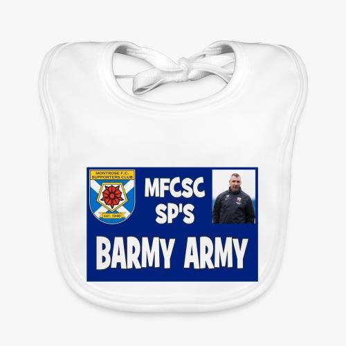 Barmy Army - Baby Organic Bib