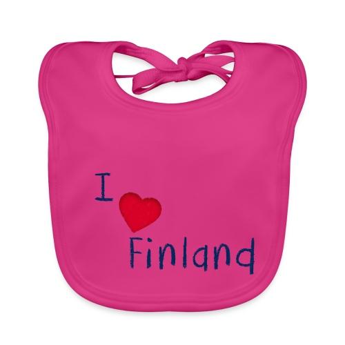 I Love Finland - Vauvan ruokalappu
