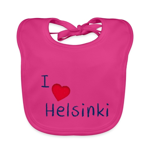 I Love Helsinki - Vauvan ruokalappu