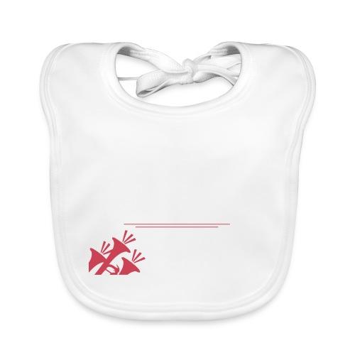 TMO official logo white - Baby Organic Bib