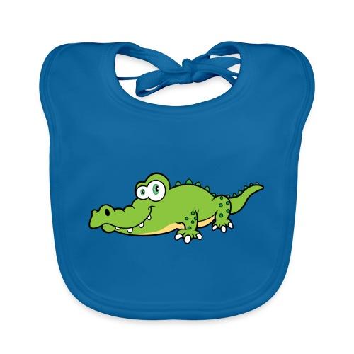 Krokodil - Bio-slabbetje voor baby's