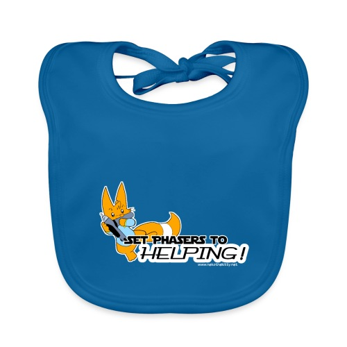 Set Phasers to Helping - Baby Organic Bib