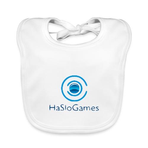 HasloGames Producten officieel logo - Bio-slabbetje voor baby's