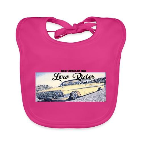 Lowrider impala 1963 vato loco west coast tshirt - Baby Organic Bib