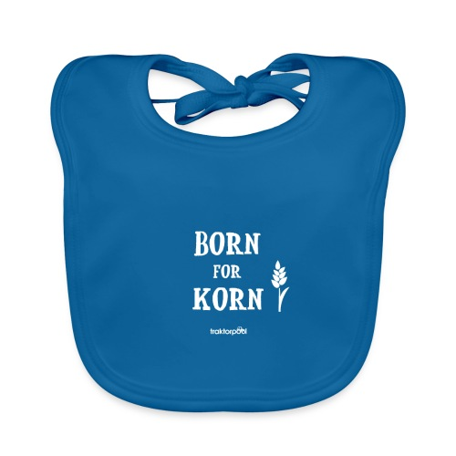 Born for Korn - Baby Bio-Lätzchen