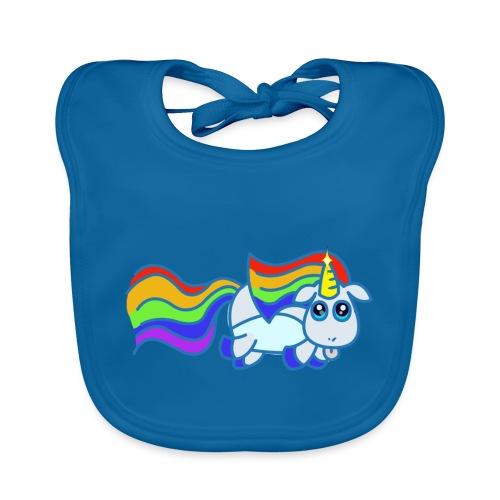 Nyan unicorn - Bavaglino ecologico per neonato