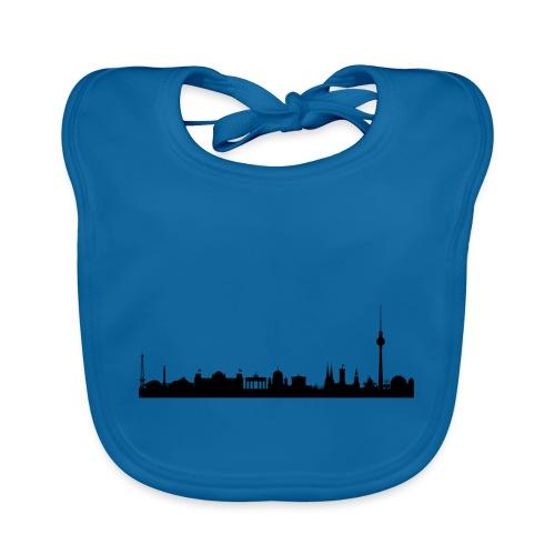 berlin skyline - Baby Bio-Lätzchen