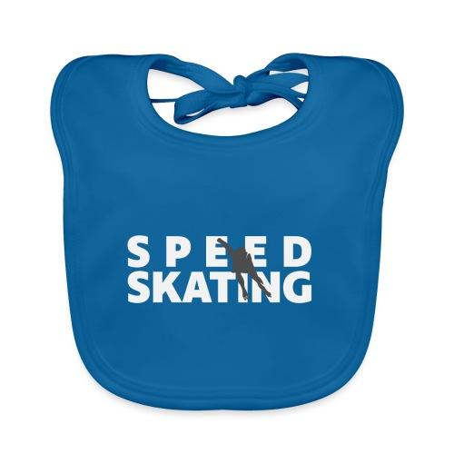 Speedskating Skater - Baby Bio-Lätzchen