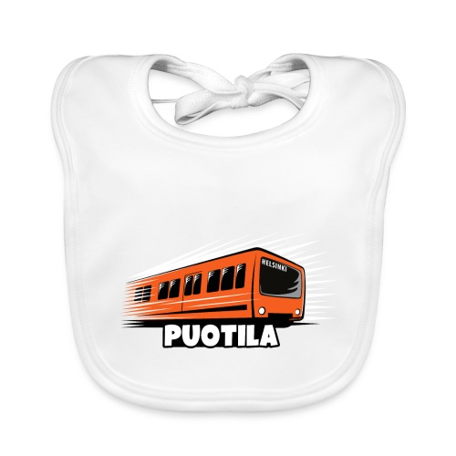HELSINKI PUOTILA METRO T-Shirts, Hoodies, Gifts - Vauvan luomuruokalappu