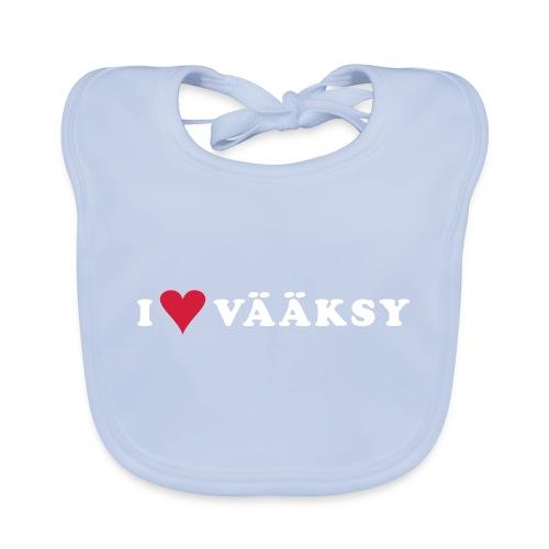 I LOVE VAAKSY - Vauvan ruokalappu