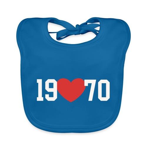 19 heart 70 - Baby Bio-Lätzchen