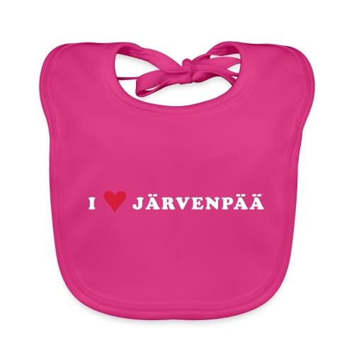 I LOVE JARVENPAA - Vauvan ruokalappu