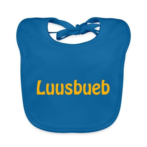 Luusbueb Schwiizertüütsch Mundart - Baby Bio-Lätzchen