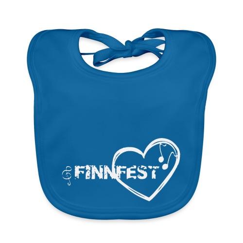 Finnfest white - Vauvan ruokalappu