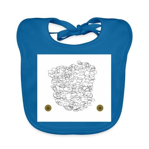 brusthaartoupet - Baby Bio-Lätzchen