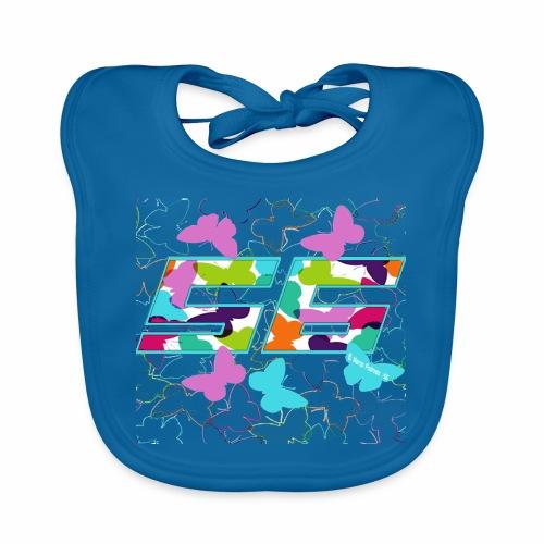 Dorsal mariposas de colores - Babero ecológico bebé