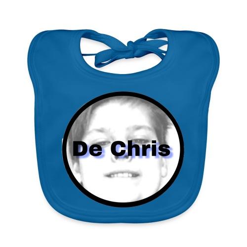 De Chris logo - Bio-slabbetje voor baby's