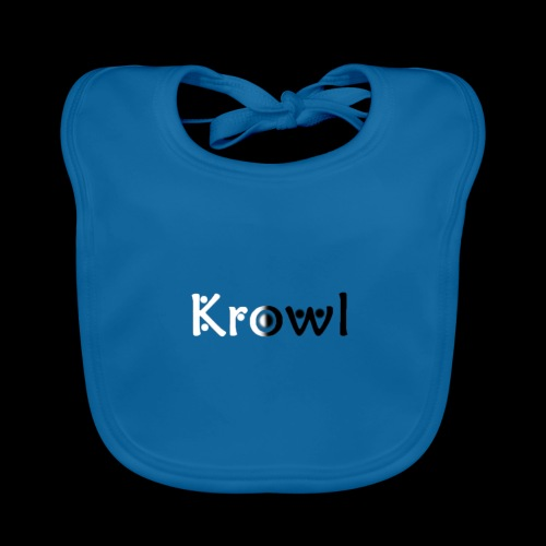 Krowl 1st Yin & Yang Design - Bavoir bio Bébé