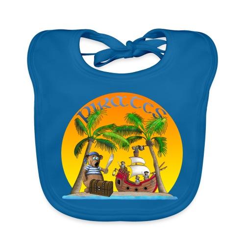 Piraten - Schatz - Baby Bio-Lätzchen