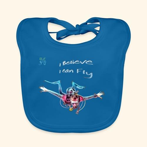 fly: night dive - Baby Organic Bib