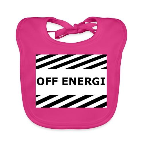 OFF ENERGI officiel merch - Ekologisk babyhaklapp
