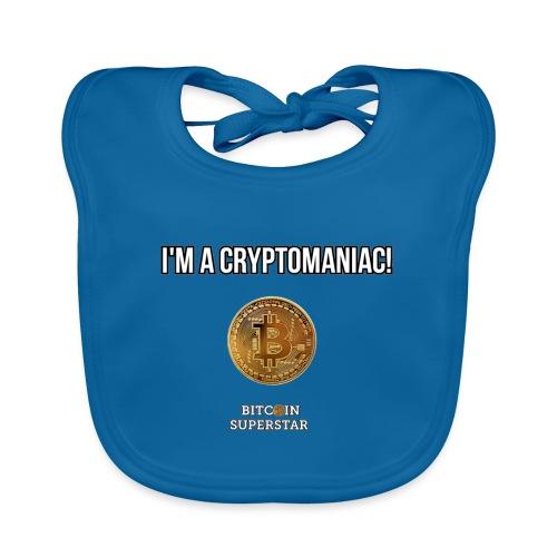 I'm a cryptomaniac - Bavaglino ecologico per neonato