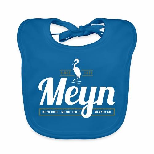 Meyn – Meyn Dorf, Meyne Leute, Meyner Au - Baby Bio-Lätzchen
