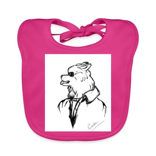 InkedThe Dog style bak LI - Babero ecológico bebé