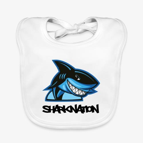 SHARKNATION / Black Letters - Bio-slabbetje voor baby's