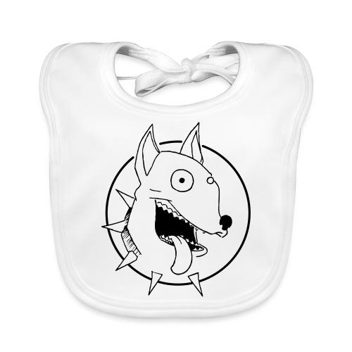 chien fou - Bavoir bio Bébé