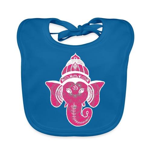 shiva namaste yoga pace amore hippie fitness art - Bavaglino ecologico per neonato