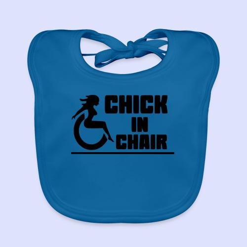 Sexy dame in rolstoel 002 - Bio-slabbetje voor baby's