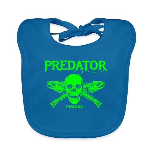 Predator fishing green - Baby Bio-Lätzchen