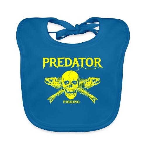 Predator fishing yellow - Baby Bio-Lätzchen