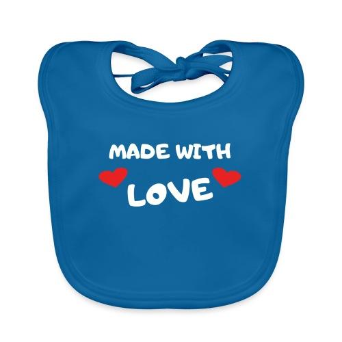 Love Liebe Baby Strampler lustige Sprüche Geschenk - Baby Bio-Lätzchen
