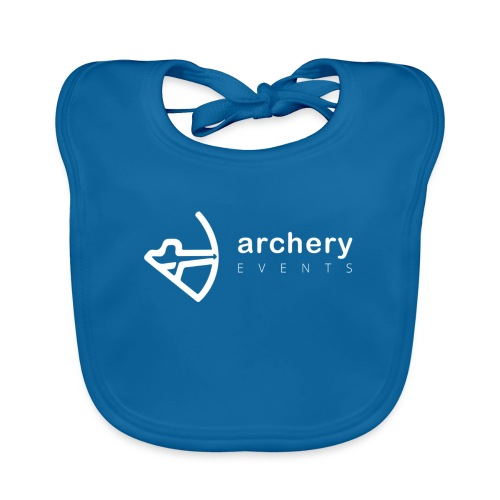 Archery Events Logo white - Baby Bio-Lätzchen