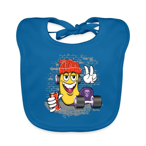 Cool Street Skater Textiles, Gifts, Products - Vauvan luomuruokalappu