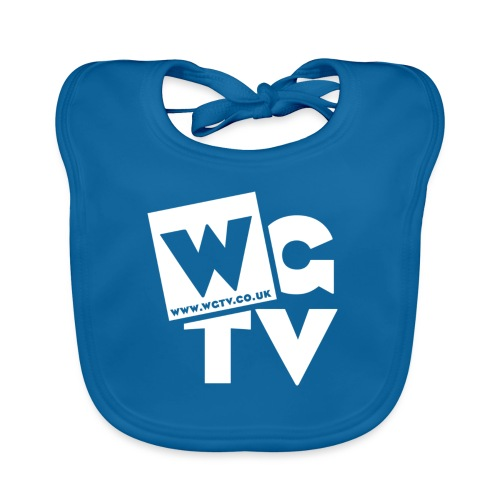 Logo_White_Large - Baby Organic Bib