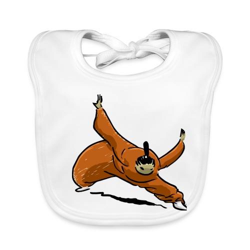 Little kung-fu monk - Baby Organic Bib
