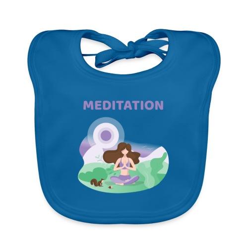 Yoga Meditation - Bavaglino ecologico per neonato