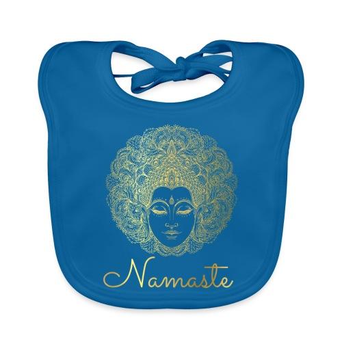 Namaste Yoga Goddess - Baby Organic Bib