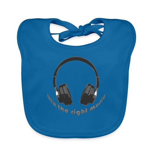 DJ Mix the right music, headphone - Bio-slabbetje voor baby's