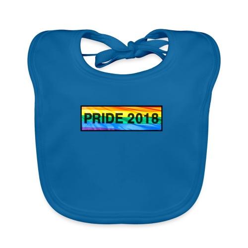 Pride 2018 long design - Baby Organic Bib