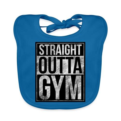 Fitness design - Straight Outta Gym - Organic Baby Bibs
